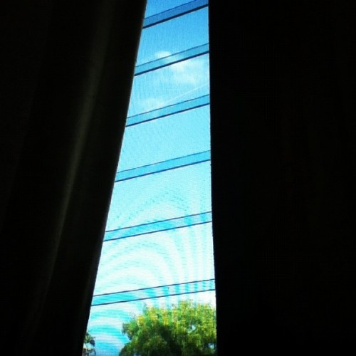 #cloud #blue #instagood #instarican #window #nature #puertorico #laspiedras #tree #sky  (Taken with Instagram)