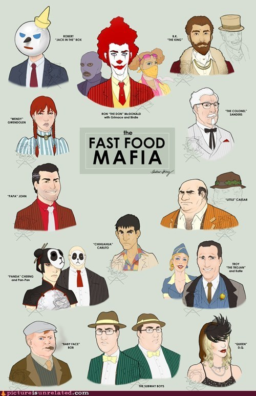 bingofuel:  The Fast Food Mafia  The Fast Food Mafia