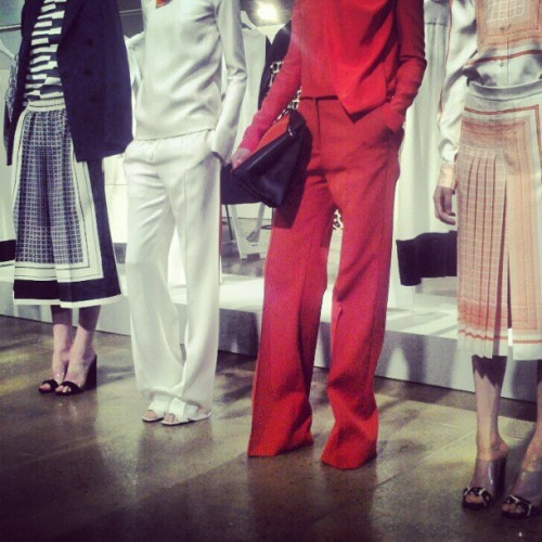 Picture yourself in one of these fab Celine resort 2013 outfits.