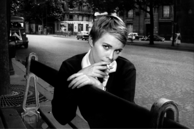 Jean Seberg is surely a strong contender for sexiest hairstyle of all time.