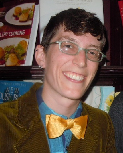 "wordbrooklyn:  WORD: Now with more bowties! Emily Pullen will be joining WORD in Brooklyn as Manager at the beginning of July. She has been an assistant manager at Skylight Books in Los Angeles for almost six years. She loved her time at Skylight but is equally stoked to be landing in New York. She also served on the American Booksellers Association's Emerging Leaders Council, the ABA's Booksellers Advisory Committee, and created the Corpus Libris blog. To keep her hand in the publishing world, she moonlights for the independent publisher Two Dollar Radio. ""Any bookstore that gets to have Emily Pullen on its staff is fortunate indeed,"" says General Manager/Co-Owner of Skylight Books Kerry Slattery. ""Her passion about books, bookselling and the book world in general is infectious — and she infuses professionalism and fun in all that she does. We will miss her greatly in Los Angeles, but are so pleased that in New York she'll be working with such a smart, forward-thinking bookstore as WORD.""  I haven't said much about all the job change stuff because I did not have internet in the new apartment until this weekend, but: I am BEYOND excited, like, tears-in-my-eyes-whenever-I-think-about-it excited, that Emily will be taking my job. She is one of the first booksellers I met when I started full-time in the indie bookseller world, and I have always admired her and thought she is one of the smartest booksellers in the business. I'll stop here before I get much more sappy, but CONGRATULATIONS, EMILY! So happy that we'll be co-workers for a few weeks."