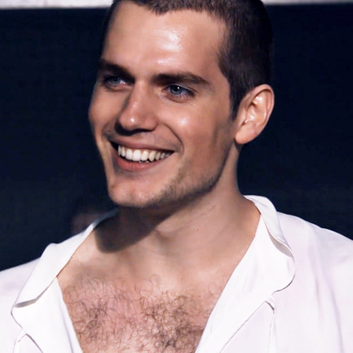 "Henry Cavill about his chest hair: ""I gotta say the whole waxing thing has its advantages in that you end up looking more defined, but it is extremely excruciating.So I like my hairy chest. I plan on keeping it."" (E!online) We like it too, Henry! Please do."