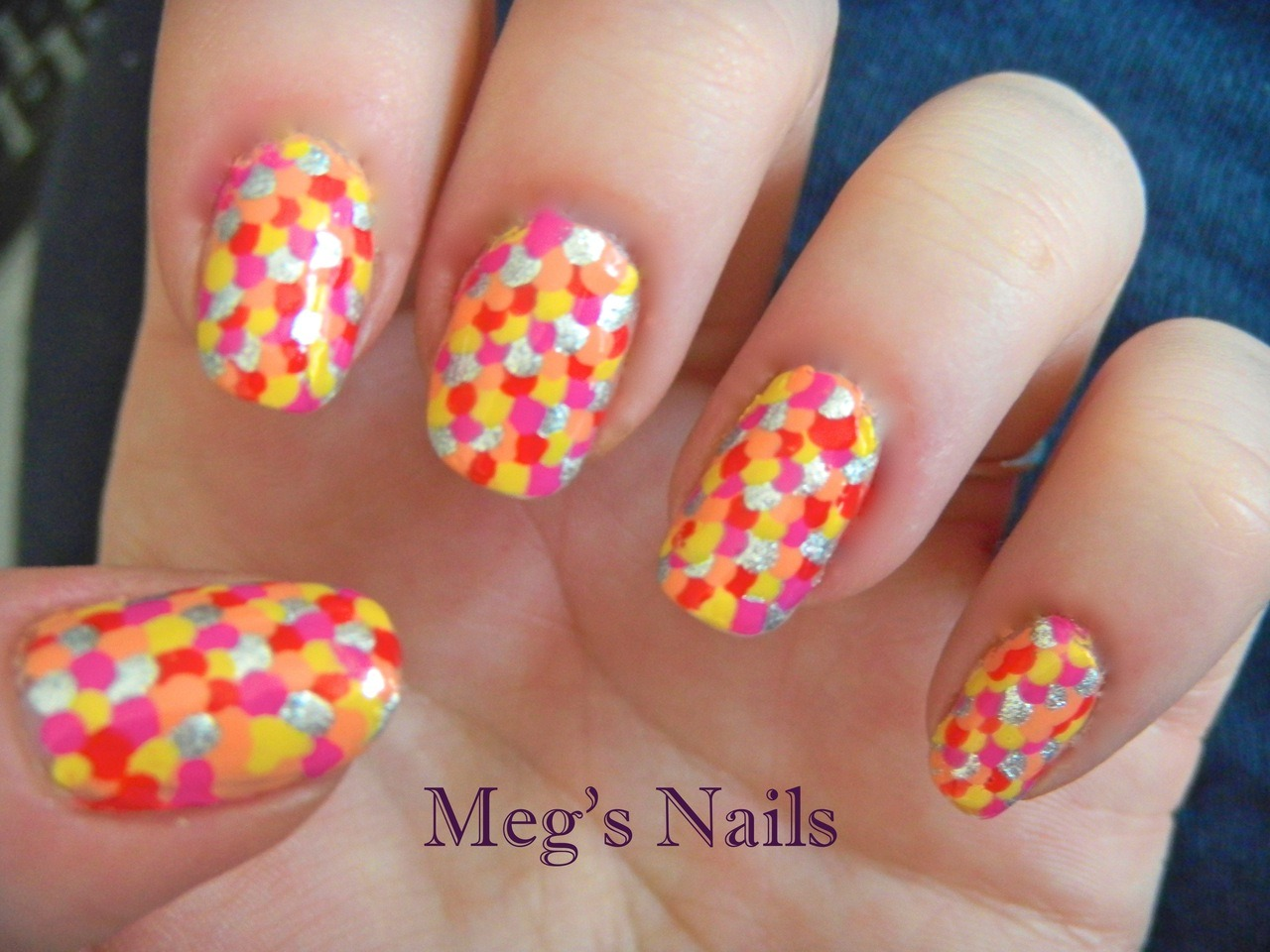 summery fish scales :)