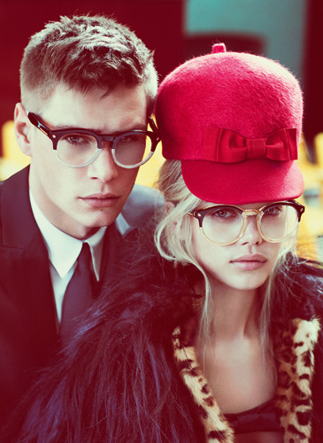 First look at the DSquared2 Fall 2012 campaign by Mert Alas & Marcus Piggott