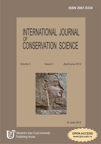 New Open Access Article- Evaluating the Rate of Stone Art Deterioration in Wadi Maghara and Wadi Mukattab, Sinai, Egypt  http://www.ijcs.uaic.ro/current.html