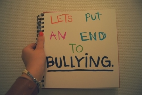 ohheyitsisabelle:  lets stop bullying forever. we can <3