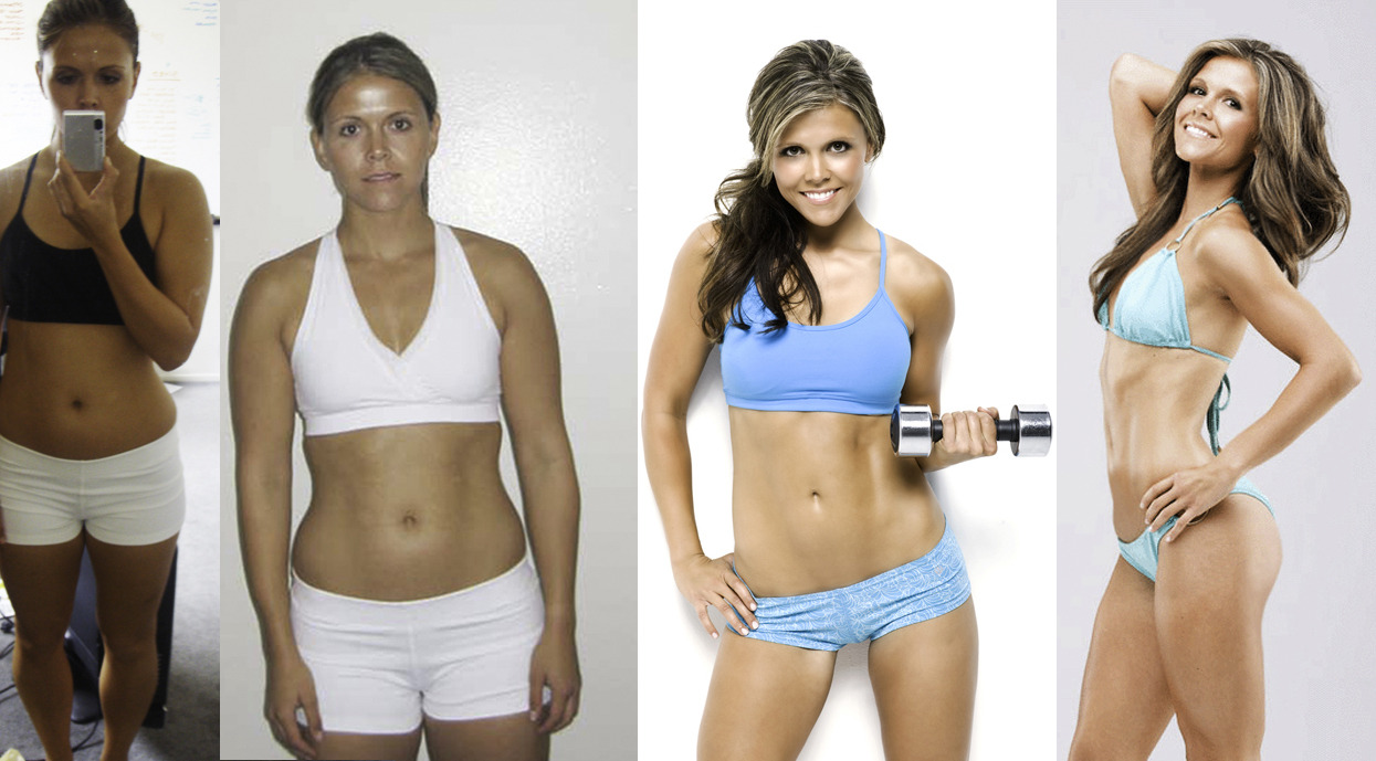 give-me-fitspo:  Tone It Up's Katrina Hodgson before and after! Even the fitness goddess herself had to start from somewhere :) she's so inspirational! #Fitspo