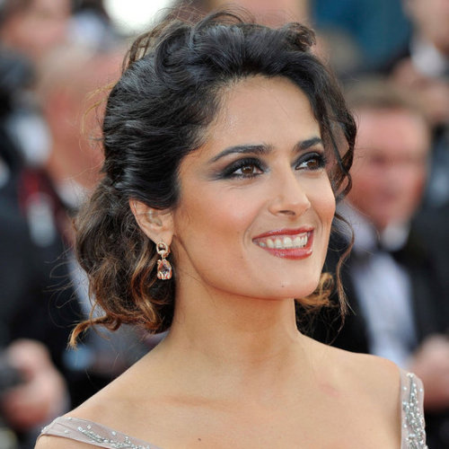 CELEBRITY: Salma Hayek at the 2012 Cannes Film Festival.