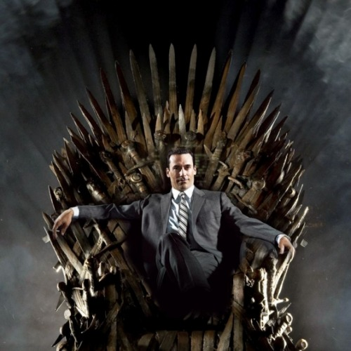 mtvgeek:  House Draper. (via See Game of Thrones–Inspired 'Houses' for Other Shows — Vulture)