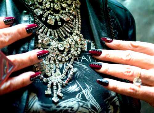 We talk nails and fashion with CND's Jan Arnold. We're totally jealous of her wardrobe!