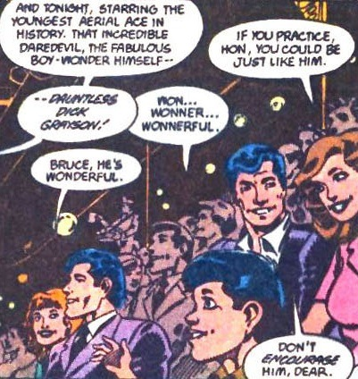 panelsofinterest:  The first appearance of Tim Drake. [from Batman (1940) #436]   See? My Janet is totally possible.