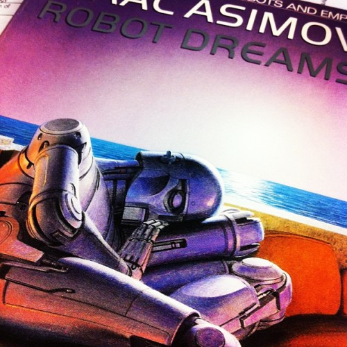 Timeout! It's Asimov time! (Taken with Instagram)