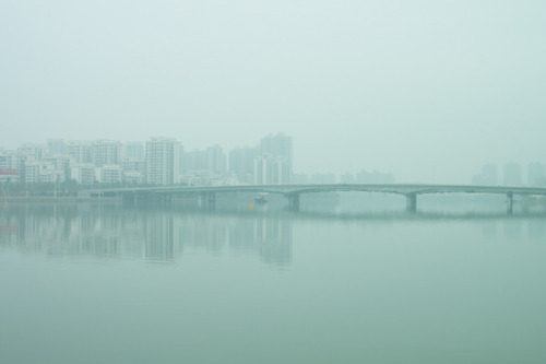 handa:  QianShan River and Bridge, a photo from Guangdong, South | TrekEarth