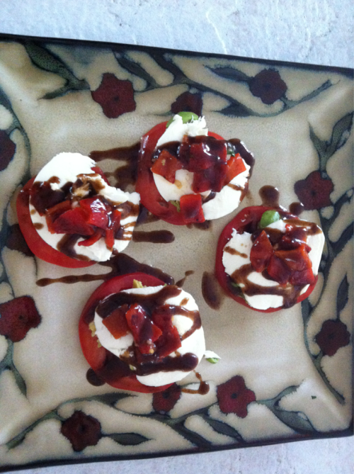If loving caprese salad is wrong I don't wanna be right.