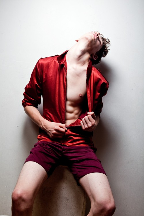 homotography:  Red model Zach King by Sean P. Watters