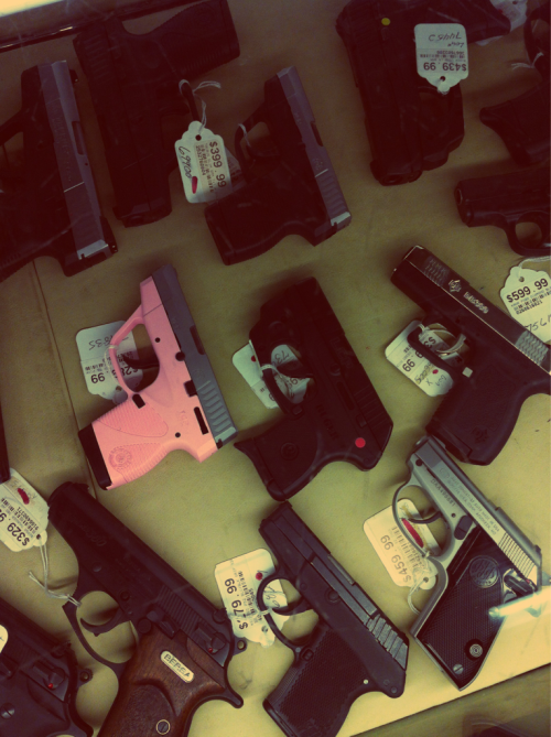 onebadromance:  I want the pink gun!