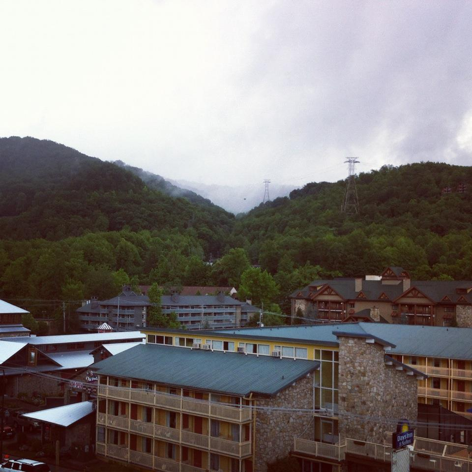 In Gatlinburg!