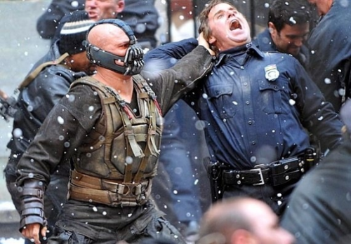 """Bane"" Capital. Has Mitt Romney turned him loose on an evil public union employee (..ie, a cop)? Will The Dark Knight return…to the White House?"