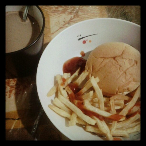 Breakfast anyone? :p (Taken with Instagram)