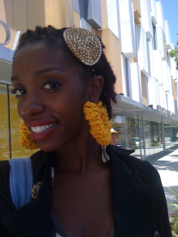 Crochet these earrings the other day I love them!