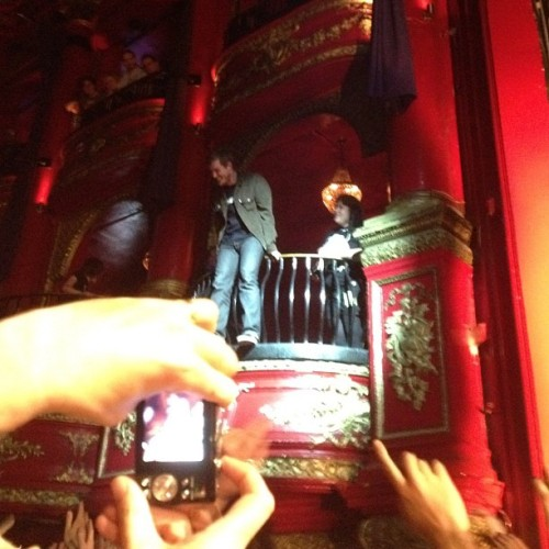 fuckyeahgaslightanthem:  idacalledyouwoodyjoe:  Brian jumped from the balcony and crowd surfed back to the stage (Taken with Instagram at KOKO)  So I hear this show was good… proof.