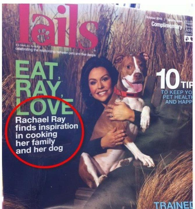 corrinda:  msgryz:  RACHAEL RAY NO.  COMMAS ARE IMPORTANT