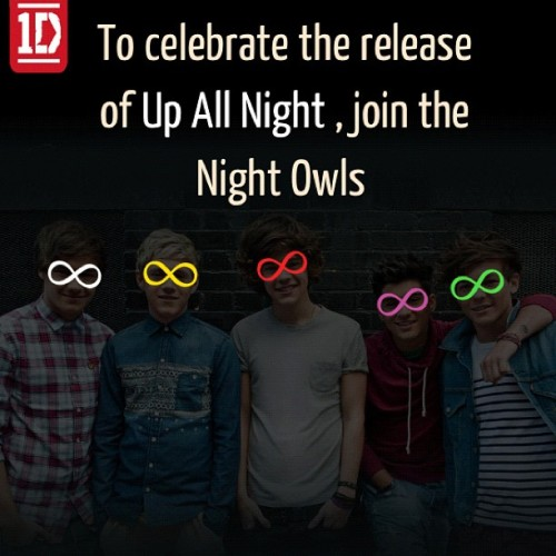 Hoot. #onedirection #nightowls  (Taken with Instagram)