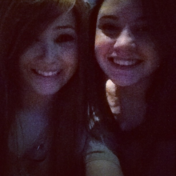 Me and Julia at the 1D concert! :D