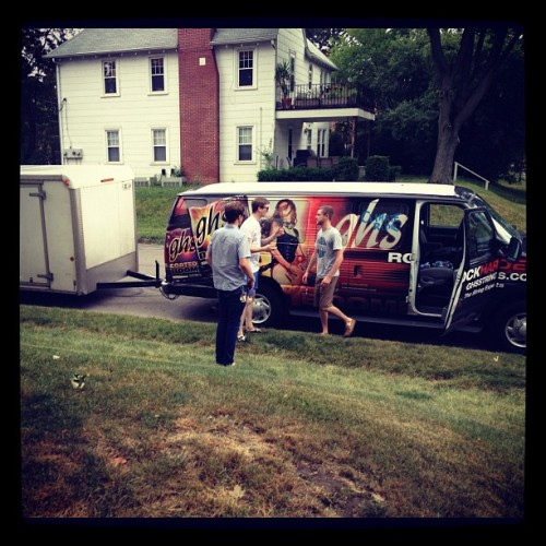Home for the next few months. See you at Warped! (Taken with Instagram)