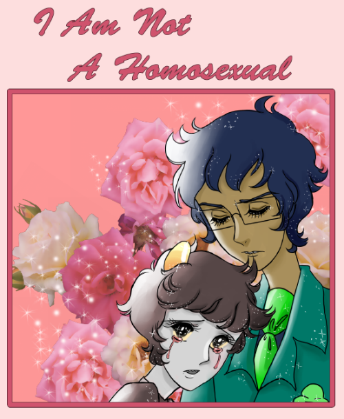 chouettechouette:  ok the prompt was parody and romance for john<3Karkat and this is the first thing i thought of parody of old school shoujo/riyoko ikeda  forgive me here it is at dreamwidth