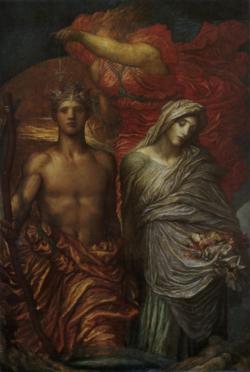 Time Death and Judgement  George Frederic Watts