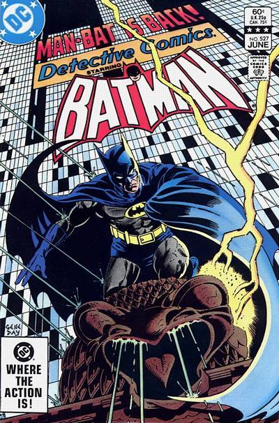 Detective Comics Vol.1 #527, June 1983. Cover by Gene Day.