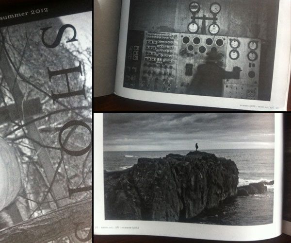 "two images from ""In Dark Light"" published in Shots Mag : Summer 2012"