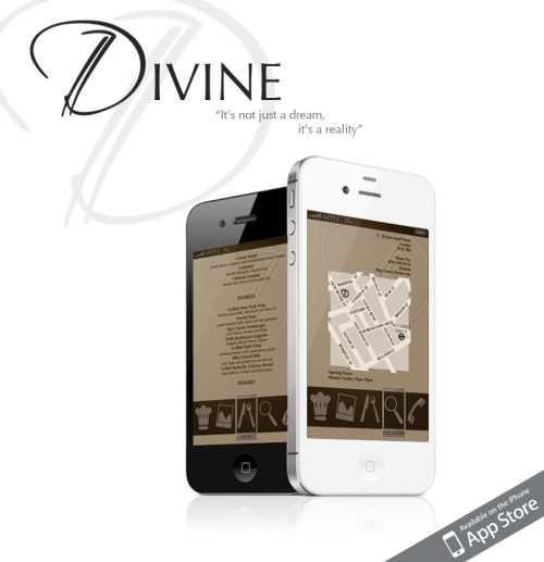 This is my final advertising poster for 'Divine'. It has taken me just under a week (6 days) to come up with and complete this brief, without all the unnecessary book work undergoing the research needed to create a sample of a possible iphone app. I hope you enjoy the outcome as much as I've enjoyed working on it. There will be much more to come soon!  The slogan is by my good friend Charlotte check her out! http://charlotteponder.tumblr.com/