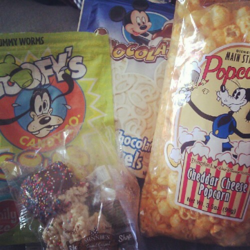 Disneyland snacks are thee best #disney #snacks #munchies (Taken with Instagram)