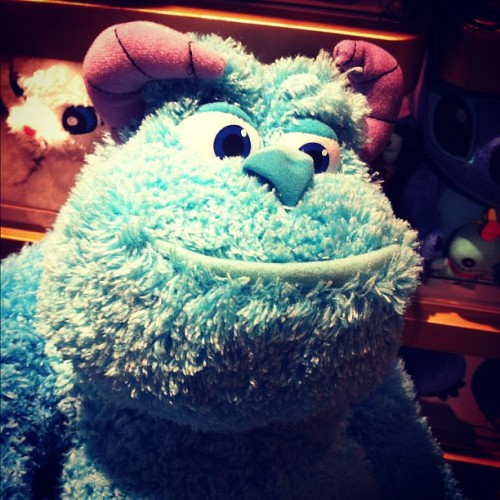 How cute is Sully?! (Taken with Instagram at Disneyland Store Hong Kong International Airport)