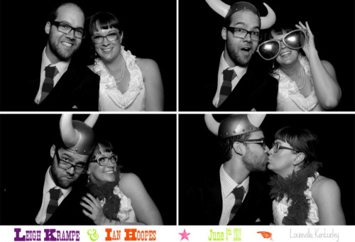 Photo booth pic via Magbooth. I am so glad we invested in this for our wedding—if you're having an event anywhere, get them. It's so worth it.