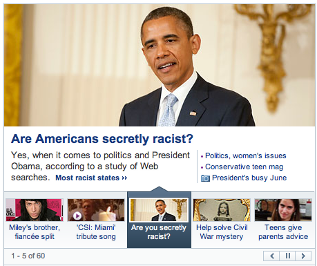 reallyfoxnews:  SECRETLY?  Yes, secretly. It's possible to lie to ourselves thoroughly and blind ourselves with what we want to believe. I believed that having compassion and love for other people regardless of race, and avoiding all conscious actions that would result in oppressing or judging another based on race, made me not a racist. But I was born into a racist culture, and benefited from a racial power imbalance. Despite all my wishes and actions, I can't avoid being a racist for those reasons. It's a big, dark secret that will take much longer than my life to fully discover and purge.