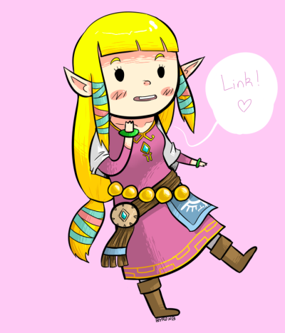 byronb:  Skyward Sword Zelda.