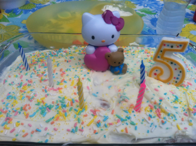 my nieces birthday cake :) guess she takes after me. i'm a proud aunt
