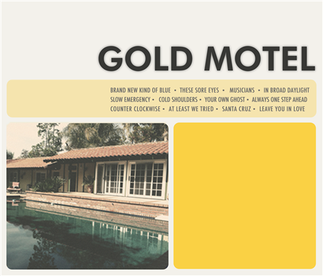 "Gold Motel's S/T Album Out July 3rd ; RCRD LBL Premieres ""Musicians"""