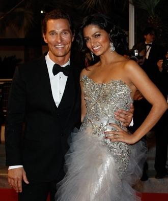 Matthew McConaughey and Camila Alves tied the knot this past weekend. They are probably the best looking couple I have ever seen.