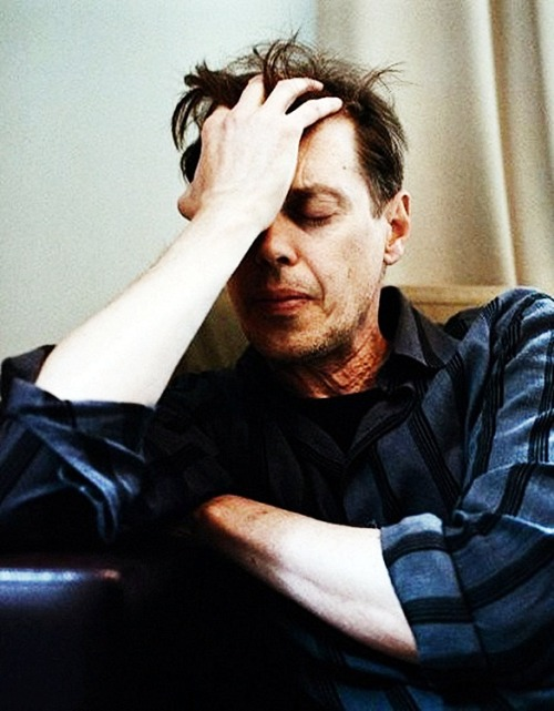 Steve Buscemi by Sam Taylor Wood