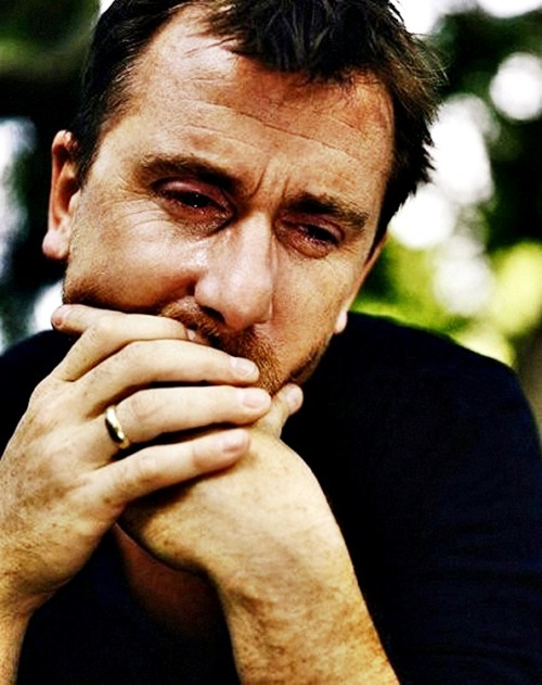 Tim Roth by Sam Taylor Wood
