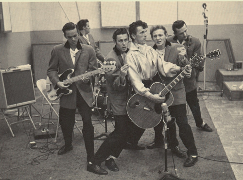 fuckyeah-rockabilly:  Gene Vincent & his Blue Caps