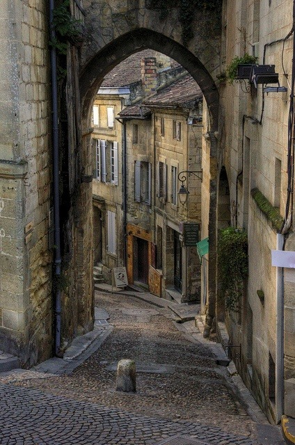 Ancient Village, St. Emilion, France photo via lily