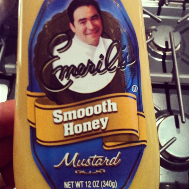 Sung in the style of @BarryWhite, Smooth Honey Mustard from Emeril.  (Taken with Instagram at The Awesome Place)