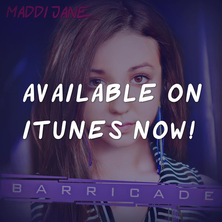 Barricade is available on iTunes now! Thanks everyone for the support. :) http://itunes.apple.com/album/barricade-single/id534246312