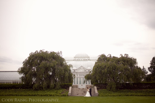 saturday's wedding at New York Botanical Gardens