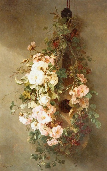 Margaretha Roosenboom A Swag of Roses 19th century